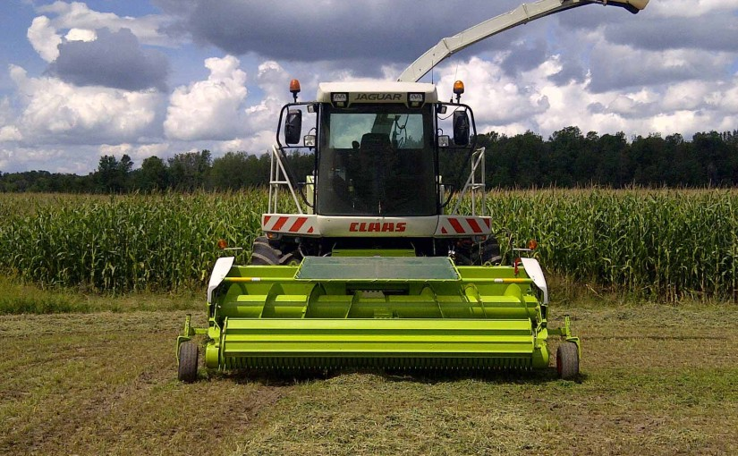 Forage Harvesting - Ten Hove's Custom Farming
