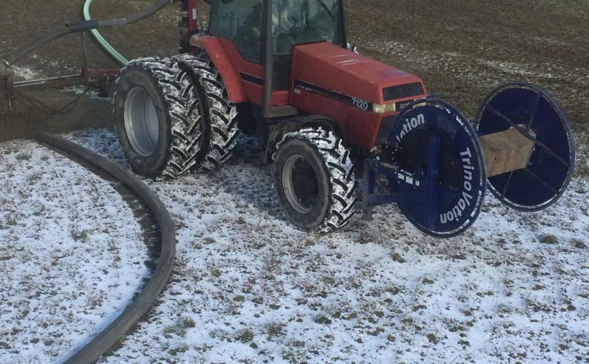 Manure Spreading - Ten Hove's Custom Farming